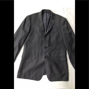 Perry Ellis Portfolio Jacket Dark Grey Size 42L